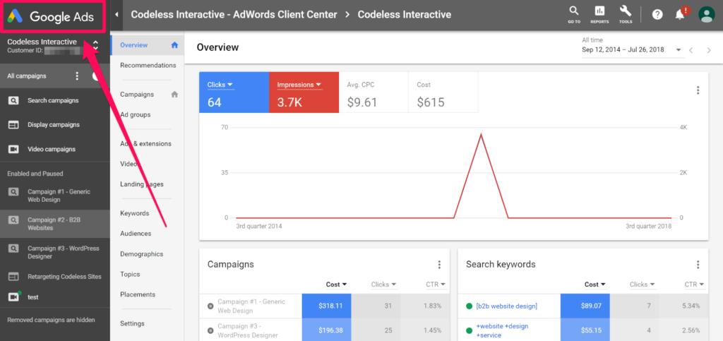 google-adwords-dashboard